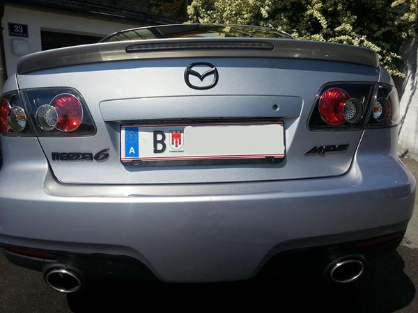 Mazda Emblem & Schriftzüge beschichtet