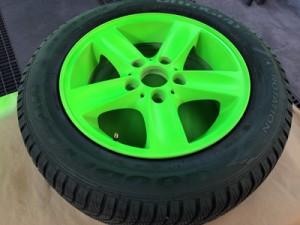 Ergebnis neon-grün