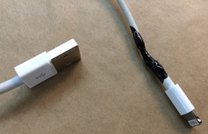 iPhone Kabel reparieren