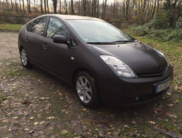 Toyota in mibenco matt schwarz