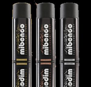 mibenco Metallic Sprays