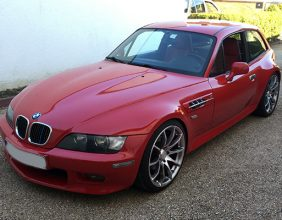 BMW Z3 rubinrot Highglossfinish