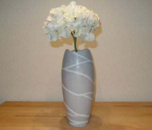 Vase telegrau mit mibenco SPRAY