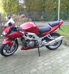 Motorrad mit Effekt Sprühfolie