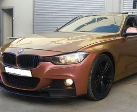 BMW mit Chameleon Pigments und Highglossfinish