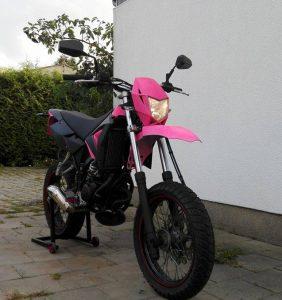 mibenco neon-pink auf mibenco weiß